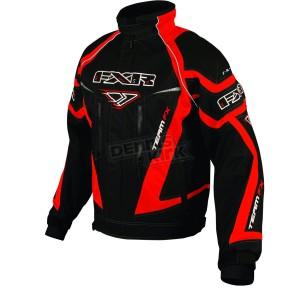 Куртка снегоходная FXR Racing Black/Red Team FX