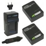 батареи и зарядник для GoPro HD Hero 3
