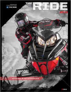 Каталог снегоходной экипировки и запасных частей Polaris 2014