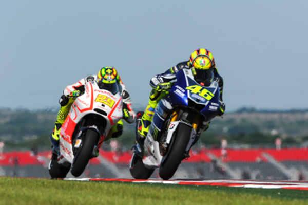 Мотоциклы MotoGP на треке Circuits of America
